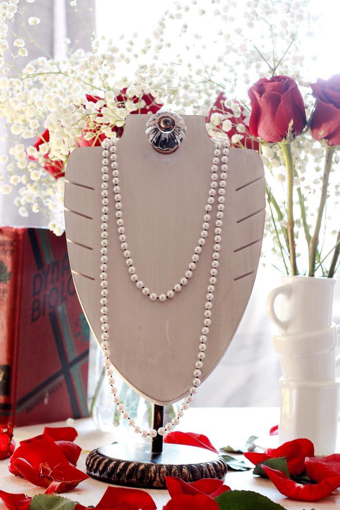 Merilyn Pearl Necklace by Kaleidoscopes & Polka Dots