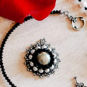 Pyrite Crystal Necklace Jewelry