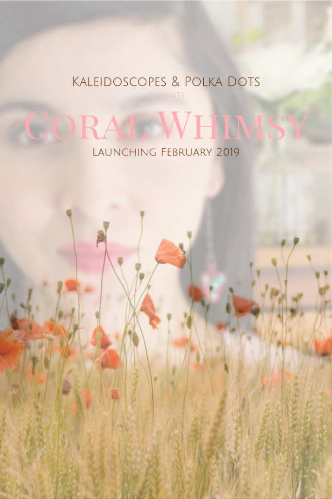 CORAL WHIMSY - PRESS RELEASE