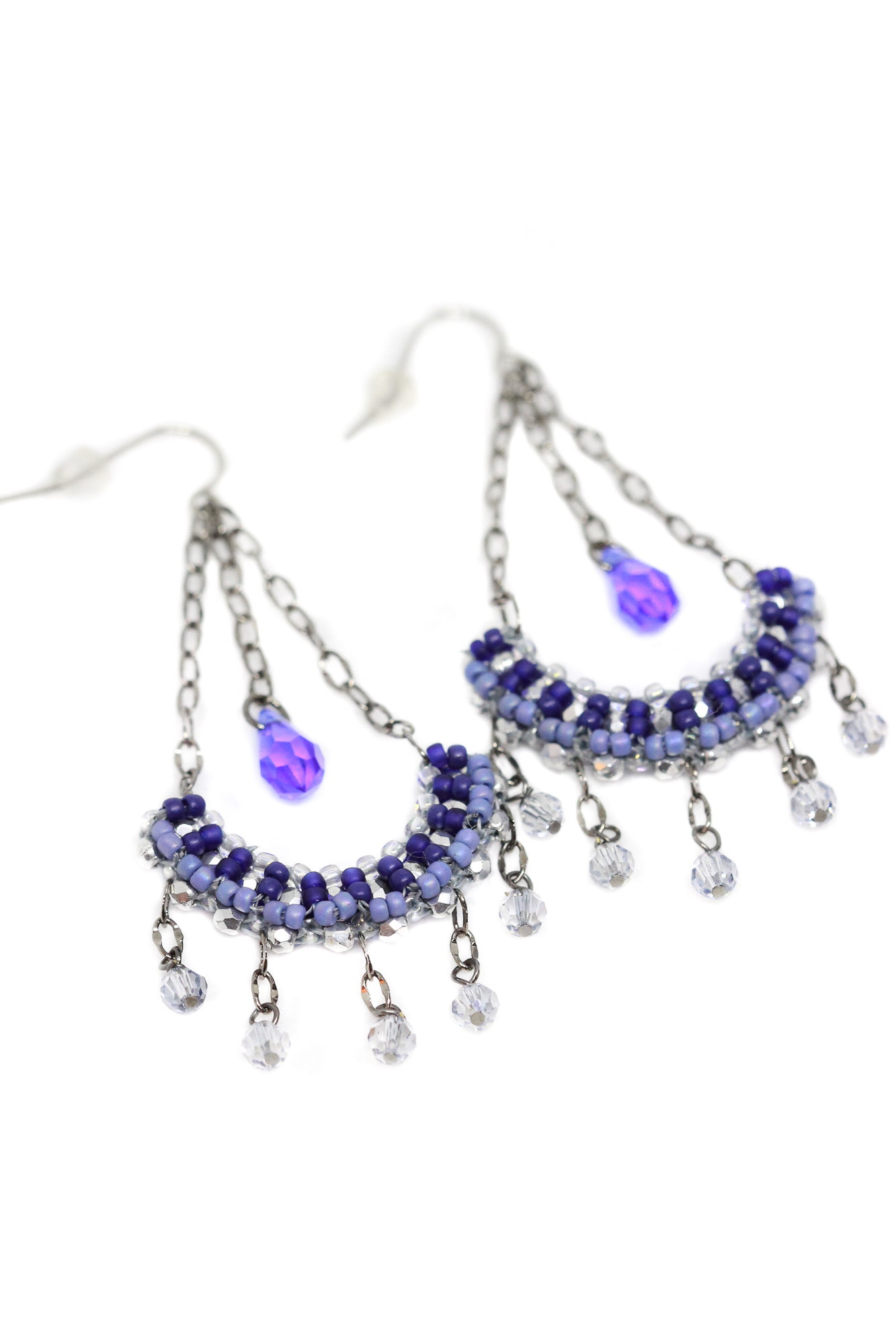 Joan Beaded Swarovski Earrings