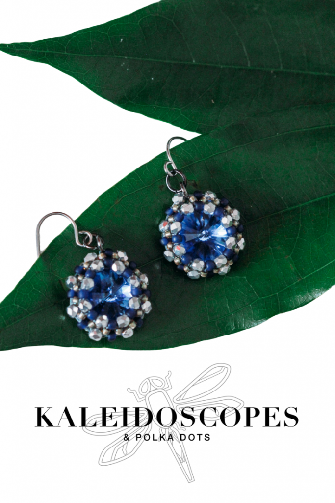 Kaleidoscopes And Polka Dots is excited to add classic blue to it's signature handmade jewelry collection on January 20th, 2020. #handmadejewelrydesigns #stylishhandmadeearrings - PRESS RELEASE