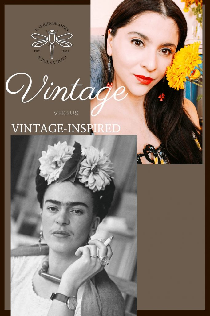Vintage Versus Vintage-Inspired: How do these terms differ?
