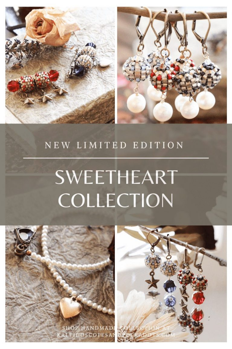 Sweetheart Collection by Kaleidoscopes And Polka Dots #handmadejewelry - PRESS RELEASE
