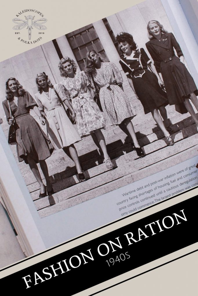 Fashion On Ration - A brief history of 1940s fashion #1940shistory #1940sfashion #1940s