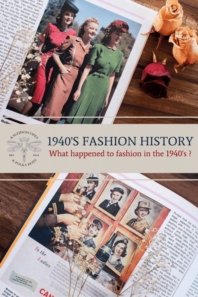 What happened to fashion in the 1940's #1940shistory #1940sfashion #1940s
