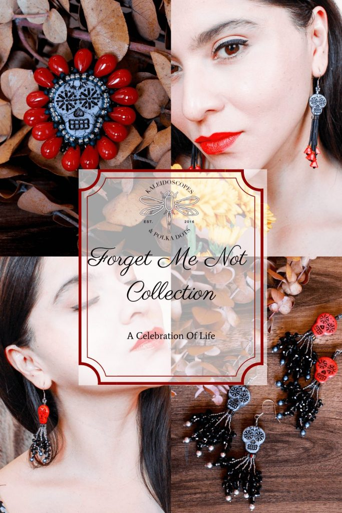 Forget Me Not Collection - 2020 - by Kaleidoscopes And Polka Dots - - PRESS RELEASE