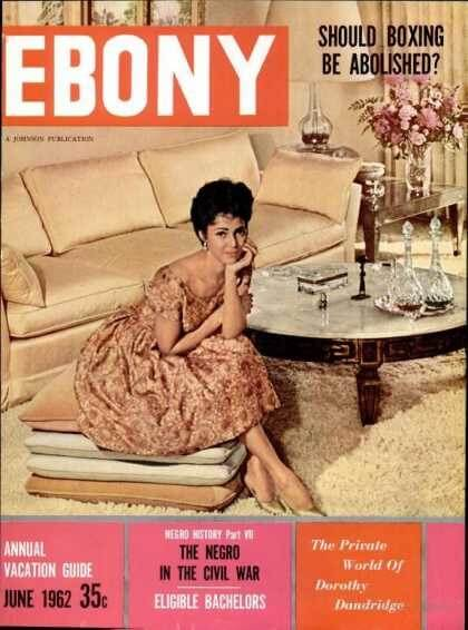 1962 EBONY DOROTHY DANDRIDGE