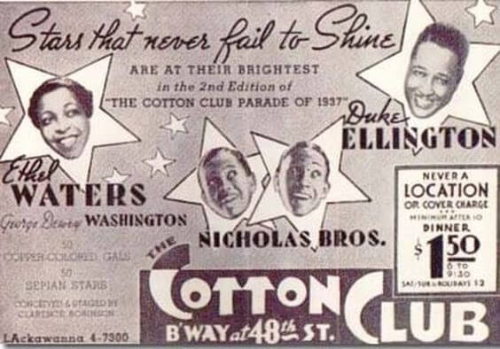 Cotton Club Ad