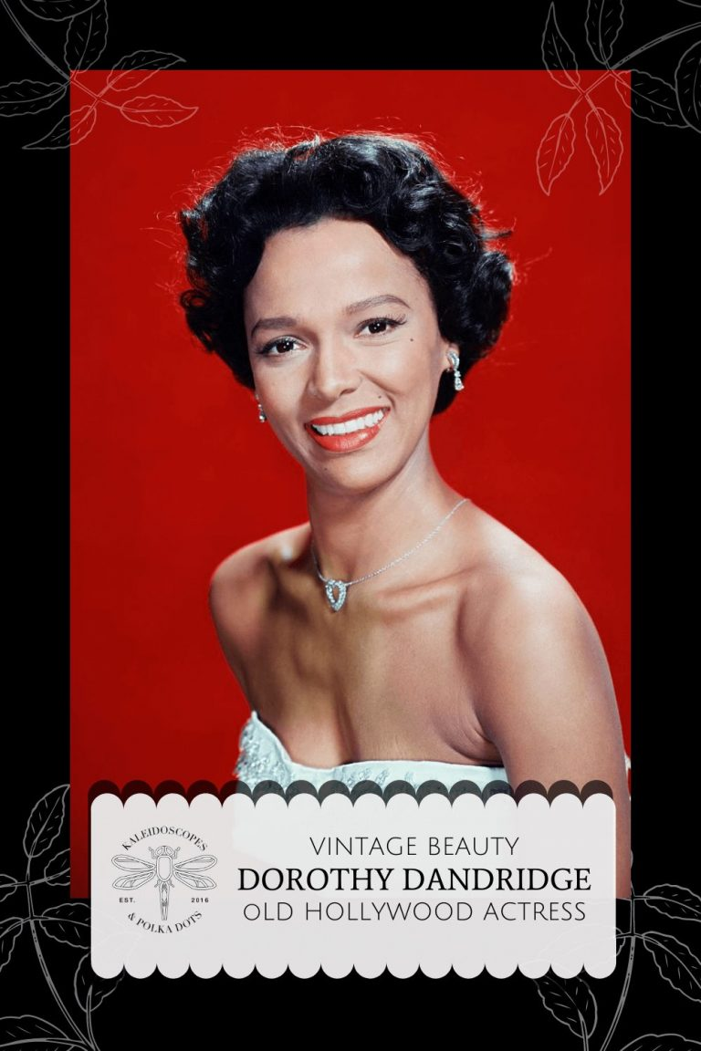 DOROTHY DANDRIDGE - OLD HOLLYWOOD ACTRESS