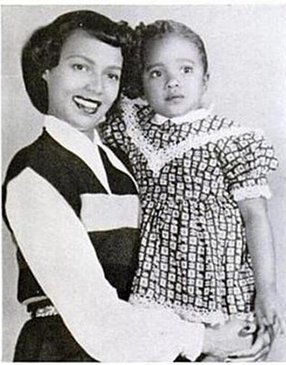 Dorothy Dandridge & Her Daughter, Harolyn Nicholas