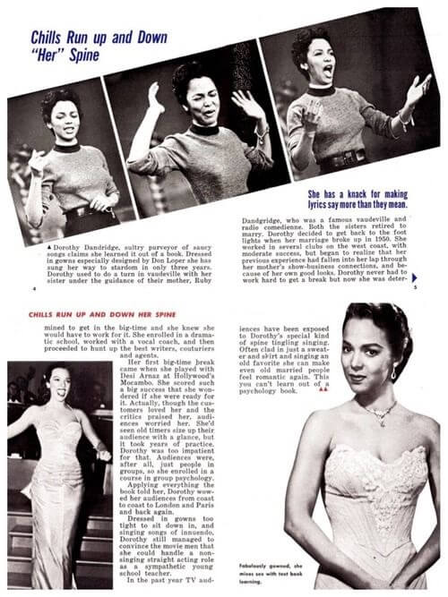 Dorothy Dandridge - Article
