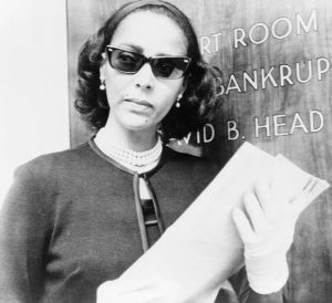 Dorothy Dandridge -Bankruptcy Court