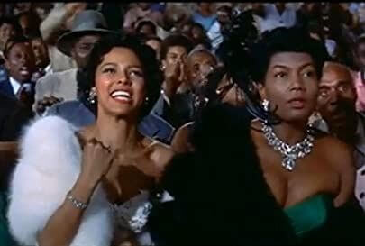 Dorothy Dandridge cheering for her man in Carmen Jones
