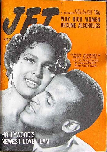Dorothy Dandridge & Harry Belafonte Jet Magazine