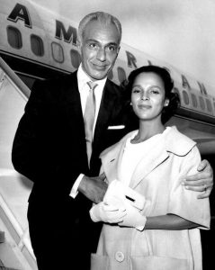 Dorothy Dandridge with second husband, Jack Denison