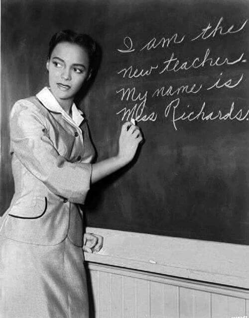 Dorothy Dandridge - Bright Road - Teacher