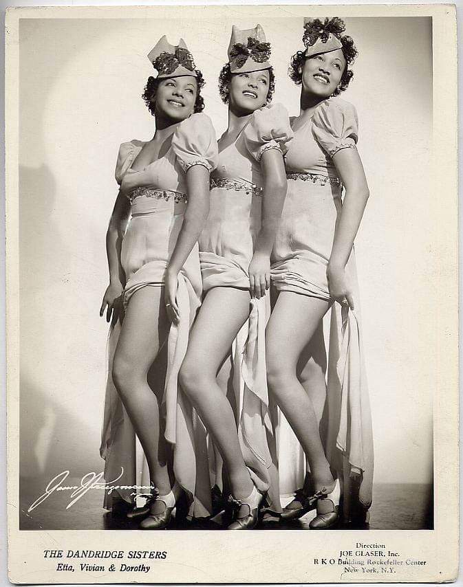 The Dandridge Sisters Signed Photo