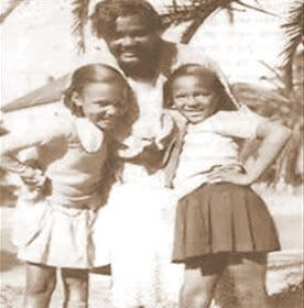 Young Dorothy Dandridge With Mom & Sister