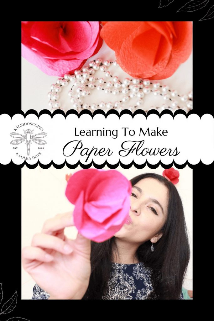 Making paper flowers for a flower backdrop #flowerbackdrop #paperflowers #papercrafts #diy