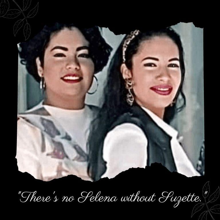 """There's no Selena without Suzette.""-Selena, The Netflix Series #selenaquintanilla #selenanetflix #selena #suzettequintanilla"