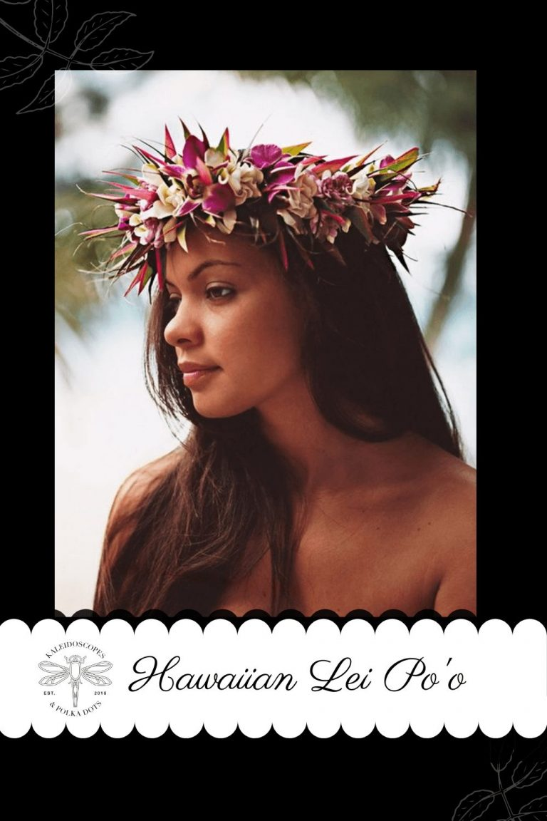 The Hawaiian flower crown is also know as a Hawaiian Lei Po'o. It is commonly used in celebration and welcome ceremonies as a gesture of love and appreciation. #flowercrown #HawaiianFlowerCrown #leipoo