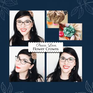 Kaleidoscopes & Polka Dots - Instagram - Creating Ribbon Rosettes & Reviewing The History Of The Flower Crown