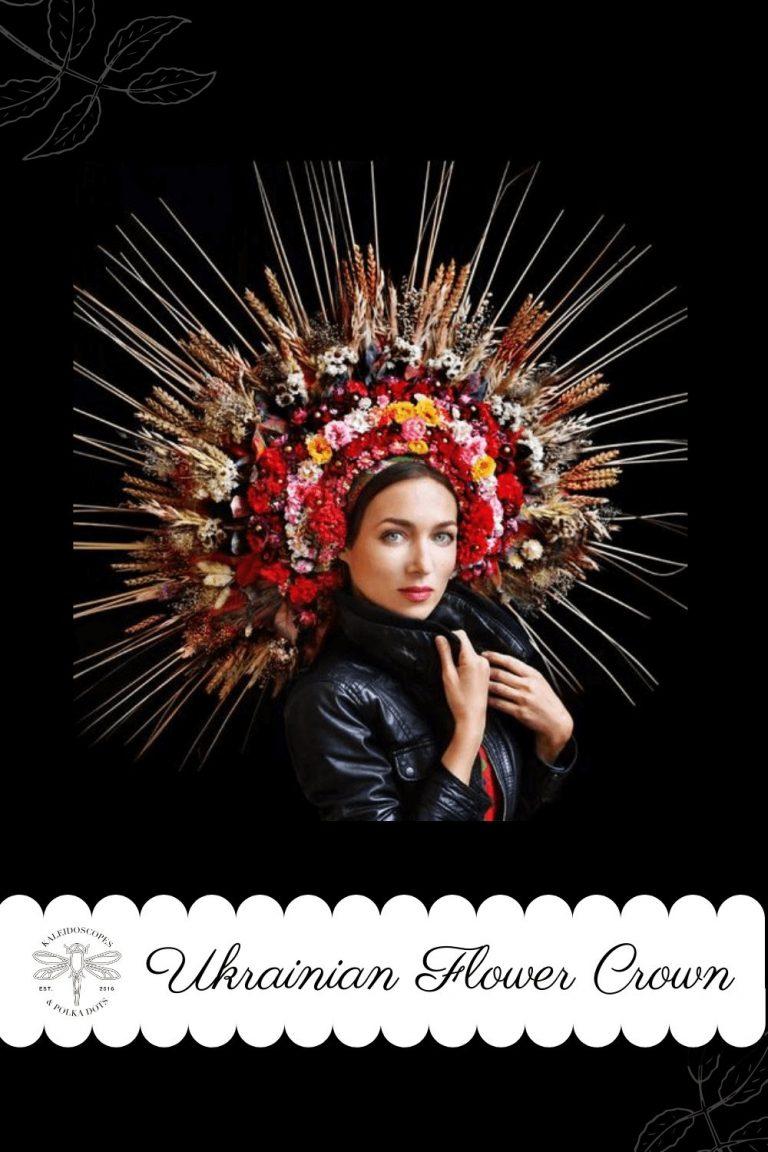 Ukrainian Flower Crown - Purity & Fertility #flowercrown #ukrainianflowercrown #abriefhistory