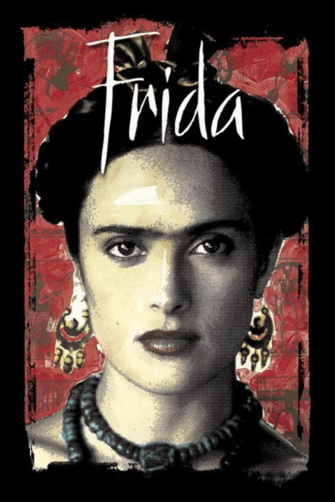 If you're interested in learning a little bit about Frida Kahlo, the 2002 movie directed by Julie Taymor is a GREAT intro. #fridamovie #JulieTaymor #fridakahloinspired #fridakahlolovers