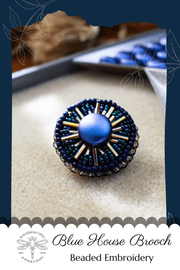 The vivid colors of the blue house inspired this brooch. #bluehouse #fridalove #foreverfrida #bringbackthebrooch #handmadejewelry