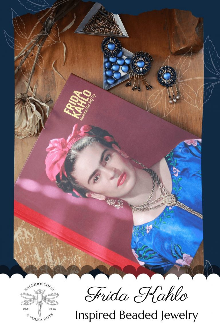 Creating vintage-inspired jewelry, to me, means taking inspiration from beloved historical figures, their work, their style, and translating my findings into something artistic and wearable. In this post, I document my journey into creating a collection inspired by Frida Kahlo. #fridakahlojewelry #fridakahlostyle #artistamexicana #fridakahlo❤️Frida would love to wear. #fridakahlojewelry #fridakahlostyle #artistamexicana #fridakahlo❤️