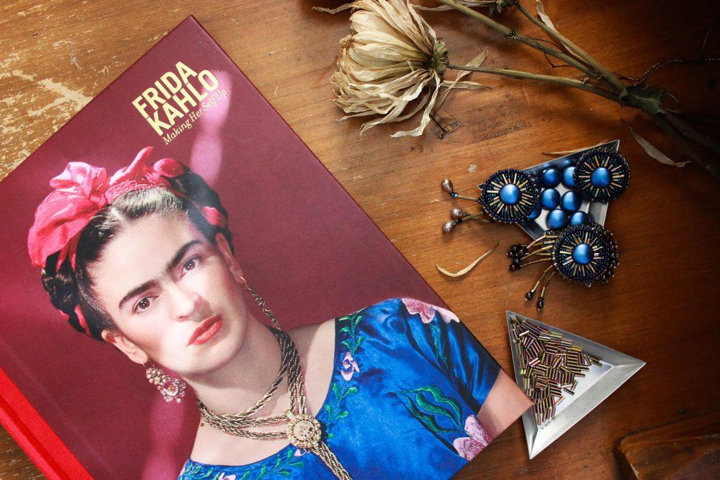 A detailed book relating to Frida's fashion, home, paintings and more. #fridakahlostyle #fridakahlofashion #fridakahloinspiration