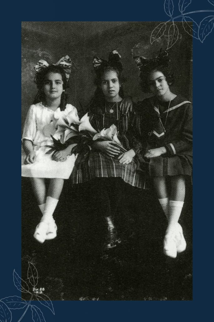 When is Frida Kahlo's birthday? Isabel Campos clarified to a set of television producers that Frida was not born in 1910. This is a photo of Cristina Kahlo, Isabel Campos, & Frida Kahlo. #fridakahlo #fridakahlofans #fridakahlolove #artistamexicana