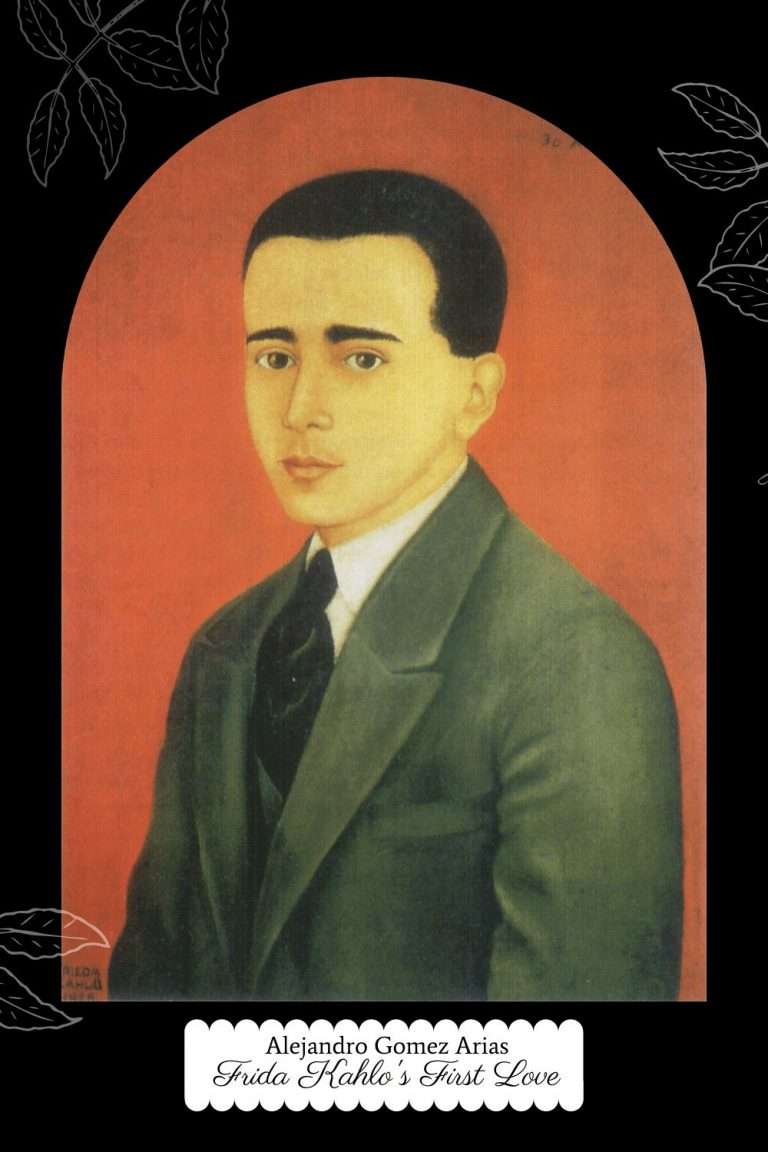Alejandro Gomez Arias - Portrait by Frida Kahlo