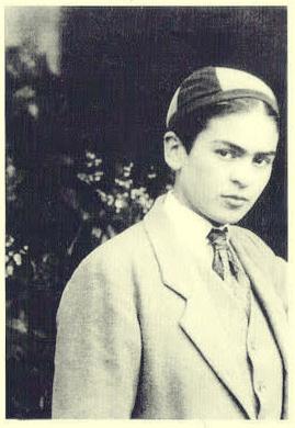 "Frida Kahlo Wearing A ""Cachucha"" - Baseball Cap"
