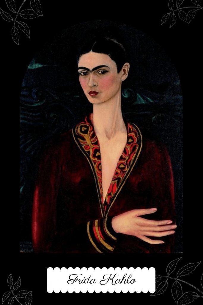 Frida Kahlo - First Self Portrait
