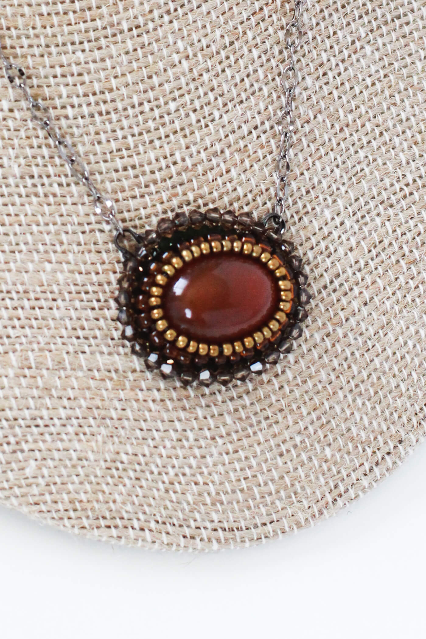 Carnelian Necklace – A Gemstone Necklace by Kaleidoscopes And Polka Dots