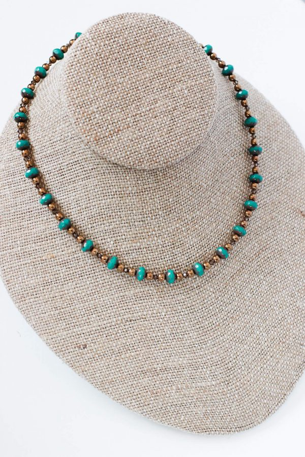 Fall Necklace - Designer Beaded Jewelry by Kaleidoscopes And Polka Dots