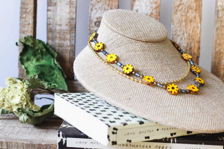 Beaded Necklaces For Women by Kaleidoscopes And Polka Dots