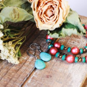 Mexican-style designer jewelry by Kaleidoscopes And Polka Dots
